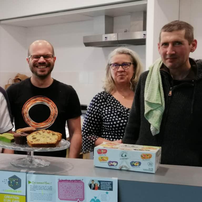 Les bénévoles au Festival Boule de Gomme.